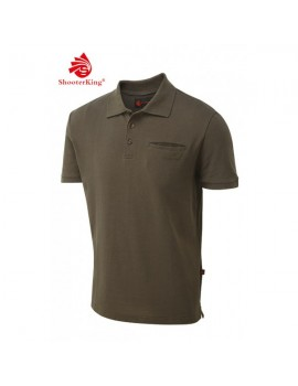Tričko Game Polo Shirt Brown