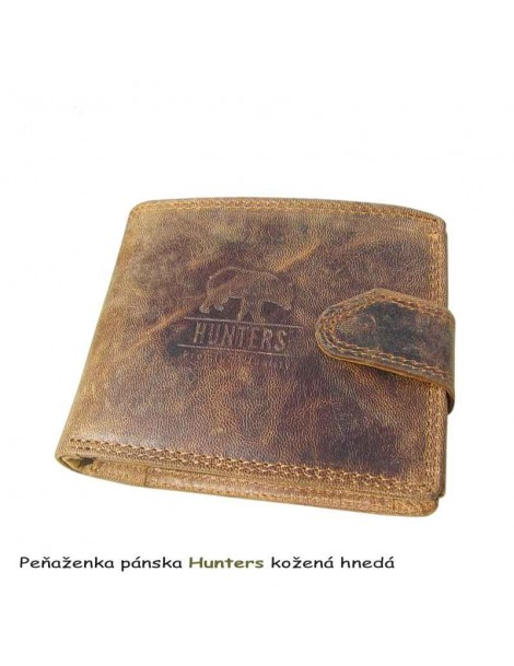 Peňaženka Hunters kožená