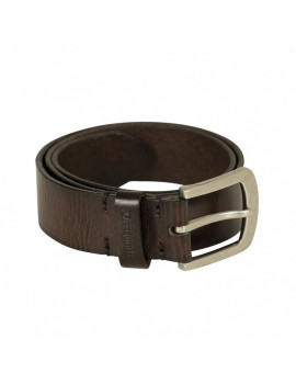 Deerhunter Leather Belt Dark Brown - kožený opasok