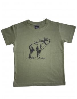 Detské tričko pes zelené