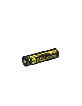 18650 Li-ion battery 2600mAh Micro-USB charging port
