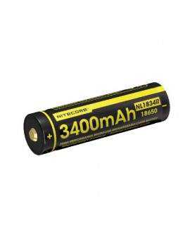 18650 Li-ion battery 3400mAh Micro-USB charging port
