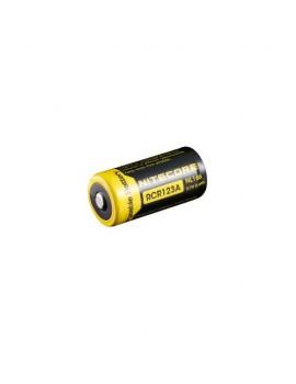 RCR123A Li-ion akumulátor 650 mAh