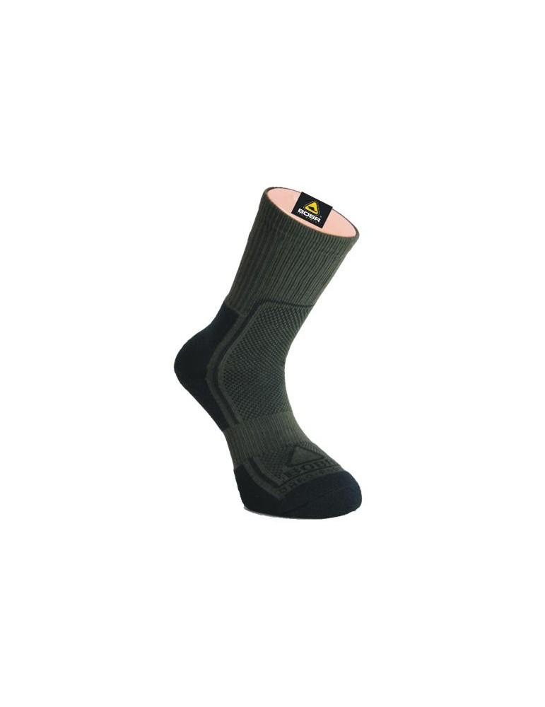 f1833401341 Ponožky BOBR jar jeseň - zelené - Hunting