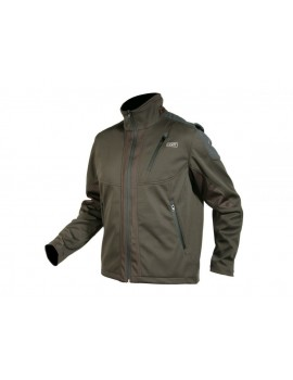 Softshell bunda LANBRO-S GREEN